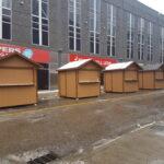 Vendor Huts
